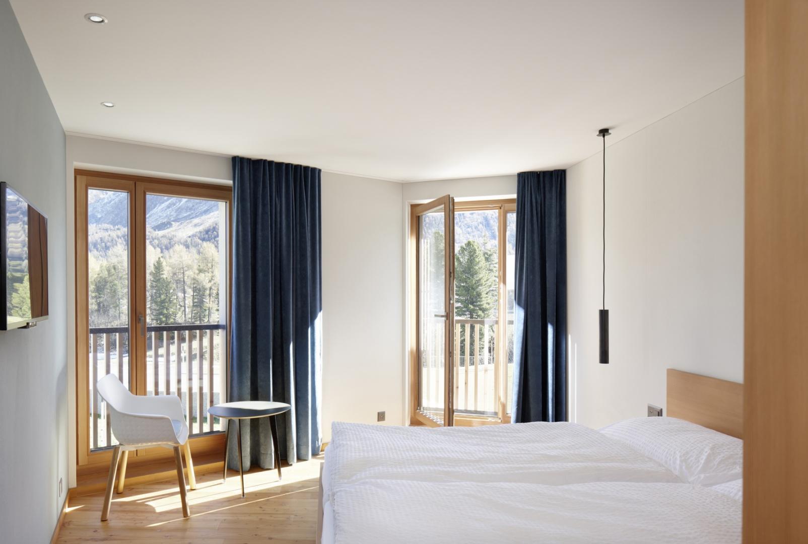 Hotelzimmer © Ralph Feiner, Malans