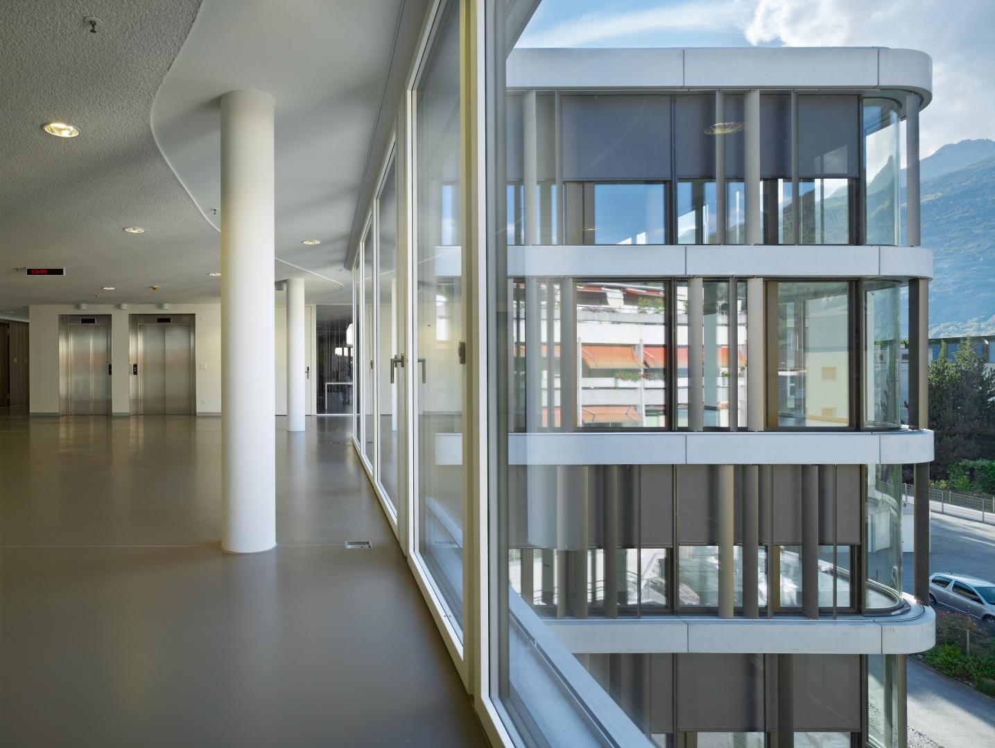 Aufenthaltszone Wohngeschoss © Ruedi Walti, Basel