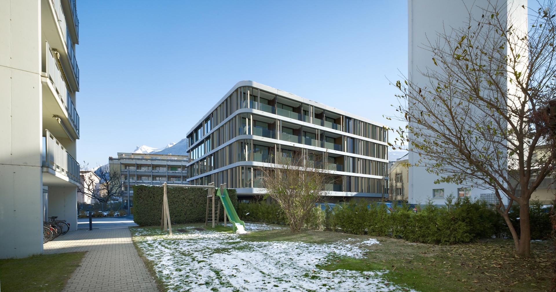Aussenansicht © Ruedi Walti, Basel
