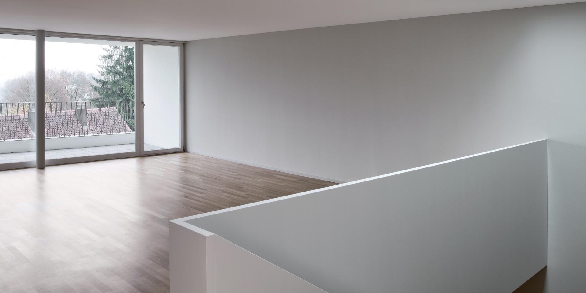Wohnen und Treppenhaus  © René Rötheli, Atelier Fotografie, Bruggerstrasse 37 5400 Baden