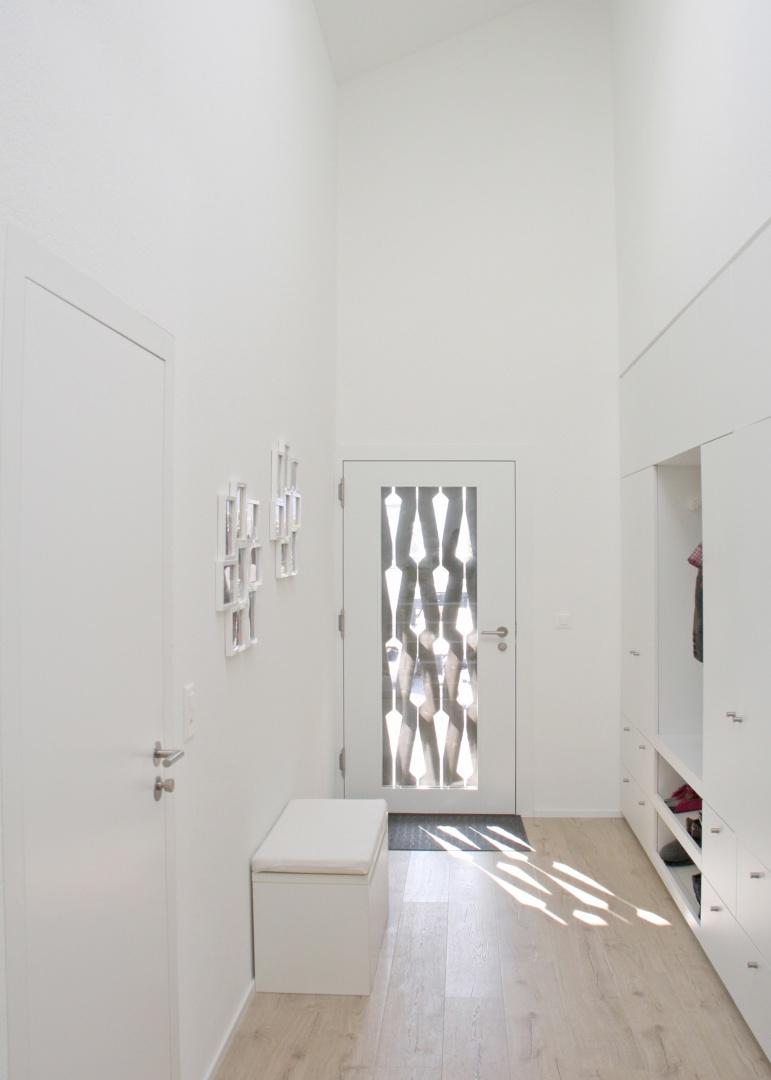 Entrée maison d'habitation © Fäh Architektur, René Rötheli, zimmermannfotografie