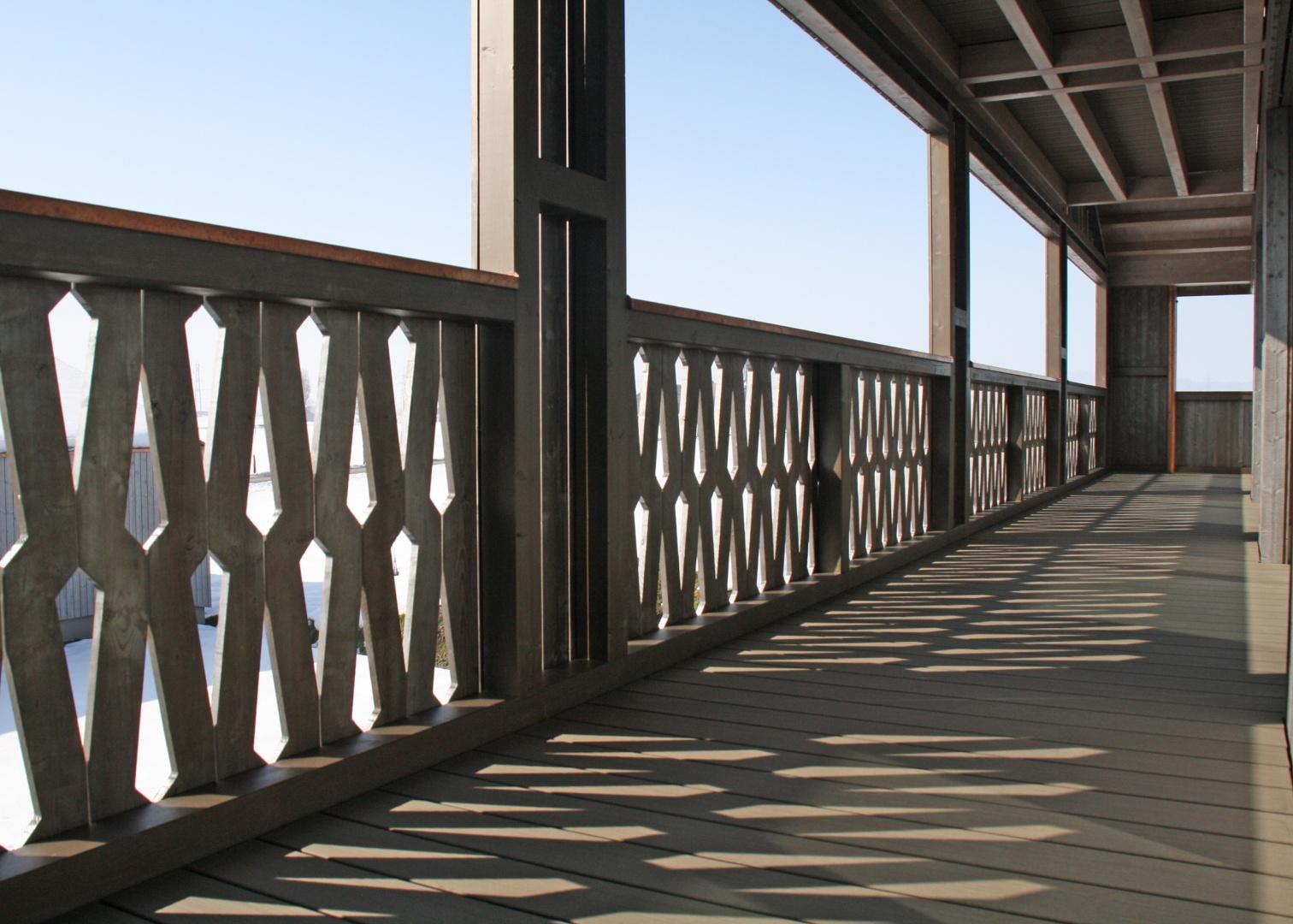 Balcon Perforaton © Fäh Architektur, René Rötheli, zimmermannfotografie