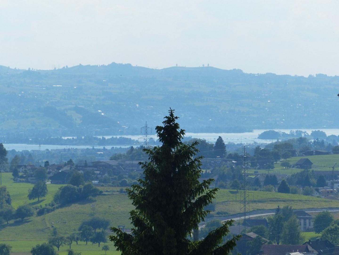 Vue sur le lac de Zurich © Landhaus-Bau Architekturbüro