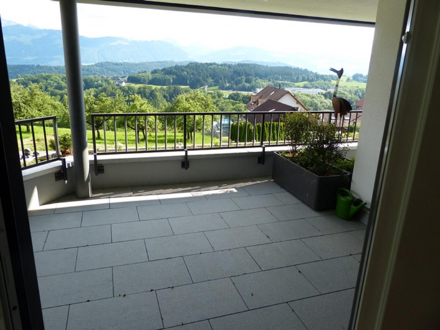 Terrasse couverte © Landhaus-Bau Architekturbüro
