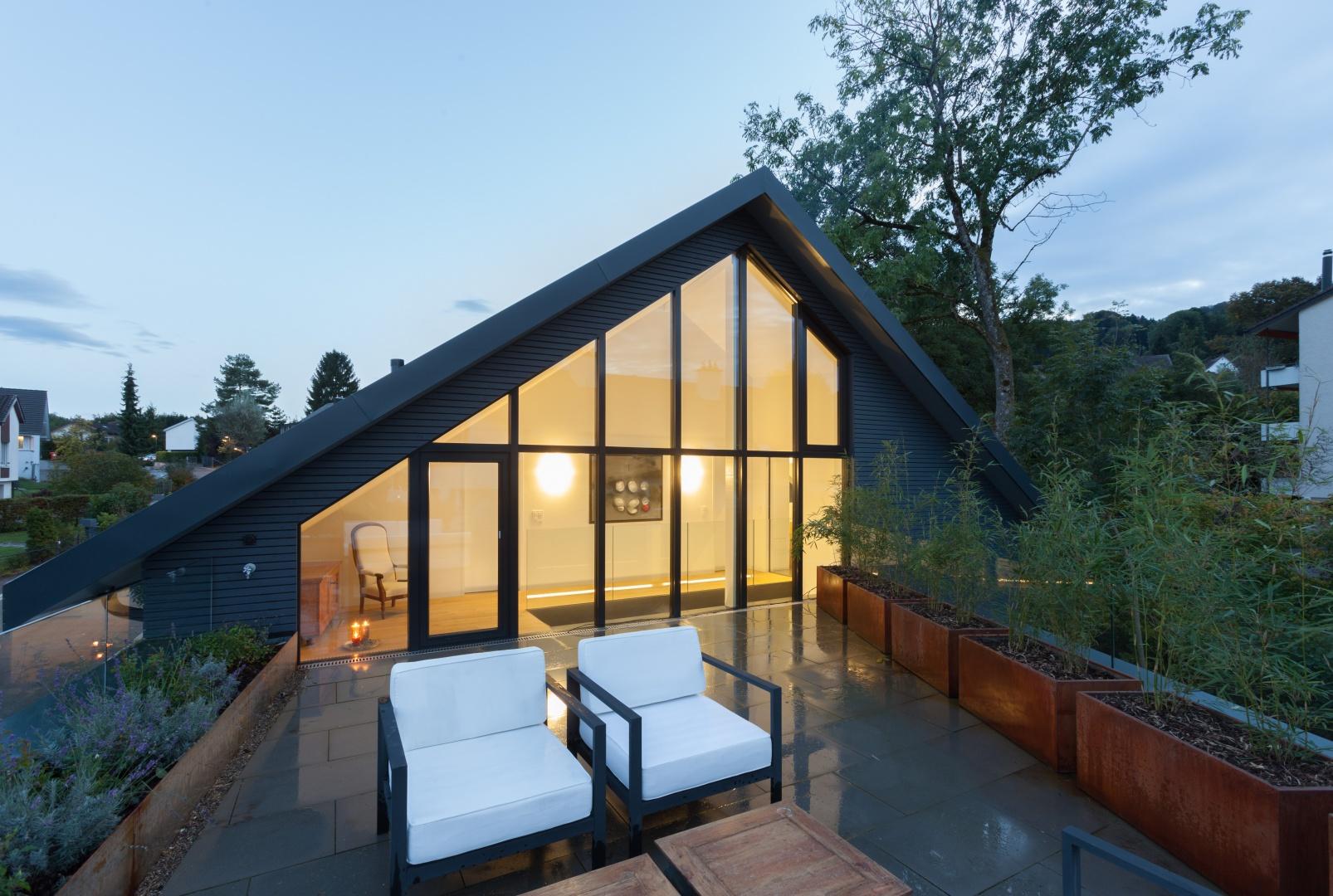 Dachterrasse © von Mann Architektur GmbH, Sonnenhofstrasse 2, 8132 Egg