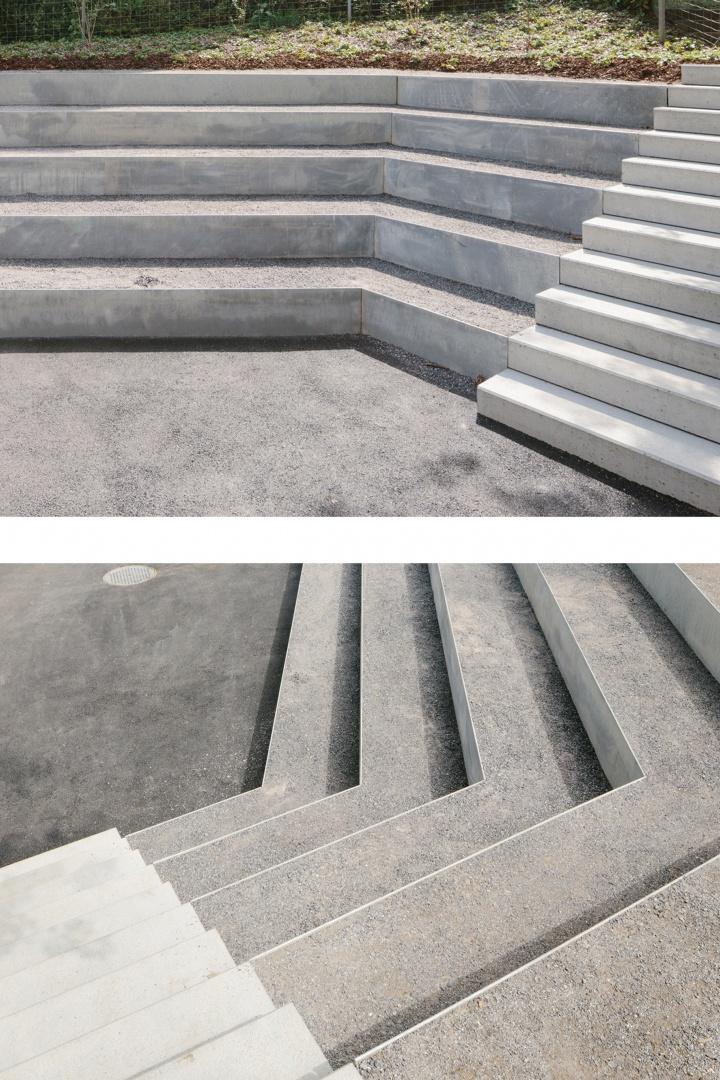 Stufenanalage im Aussenraum © Florian Amoser
