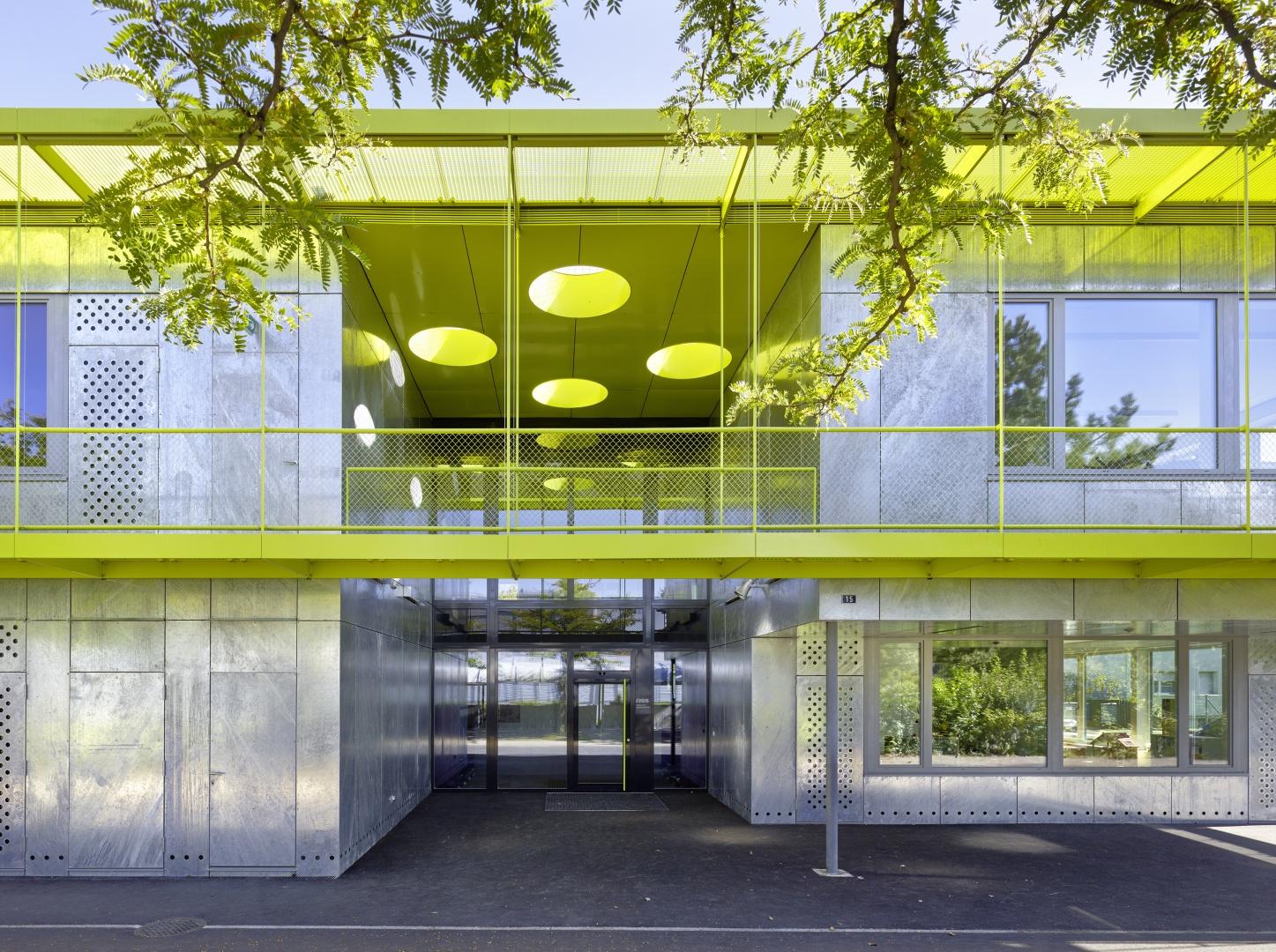 Aussenansicht Eingangshof © Hannes Henz, Zürich