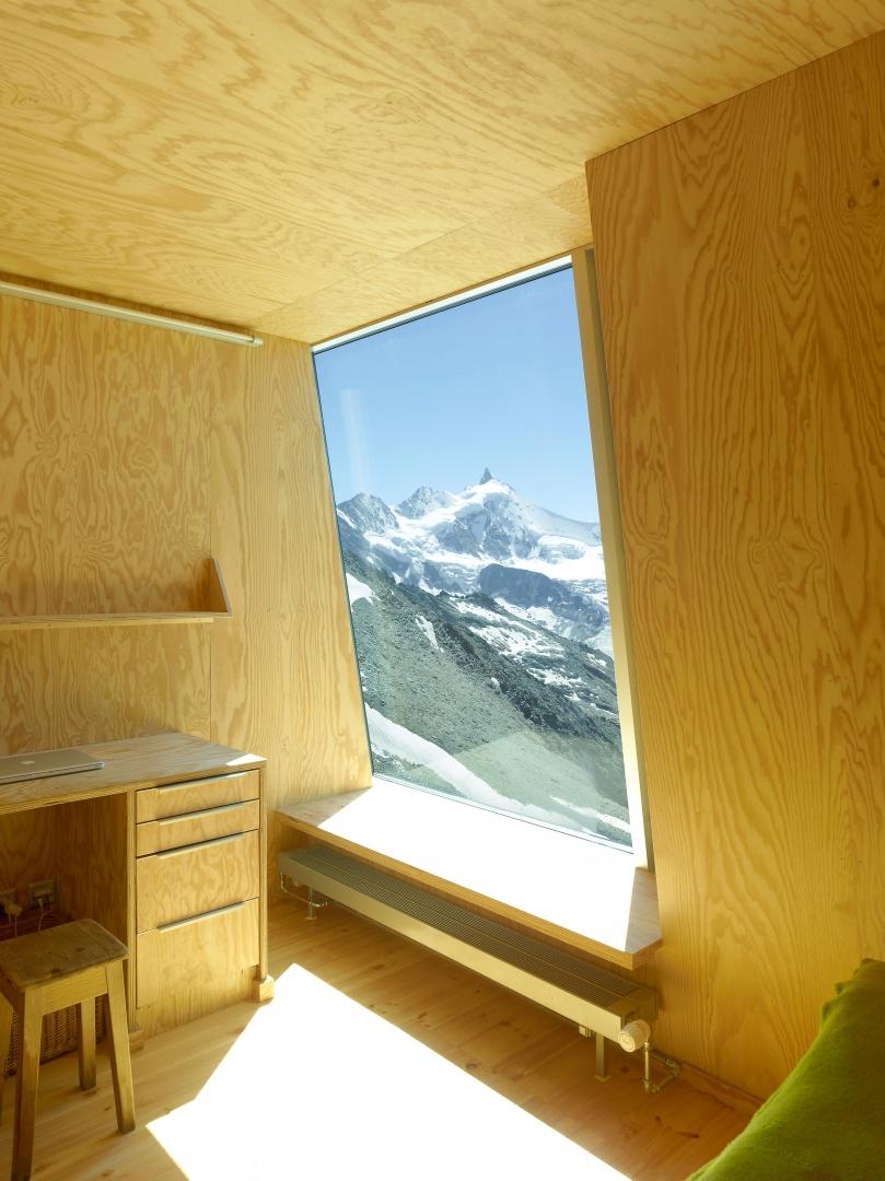 Zimmer Hüttenwart © Thomas Jantscher