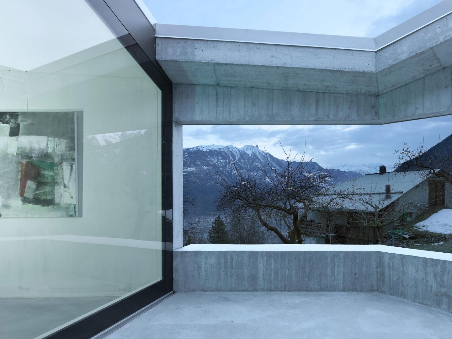 Terrasse © Thomas Jantscher