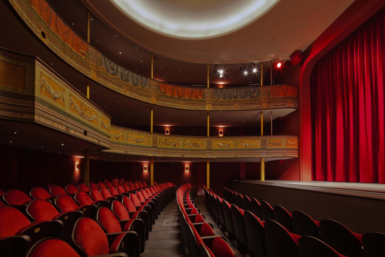 Stadttheater_Theatersaal.jpg © Johannes Iff, St. Urbangasse 1, 4500 Solothurn