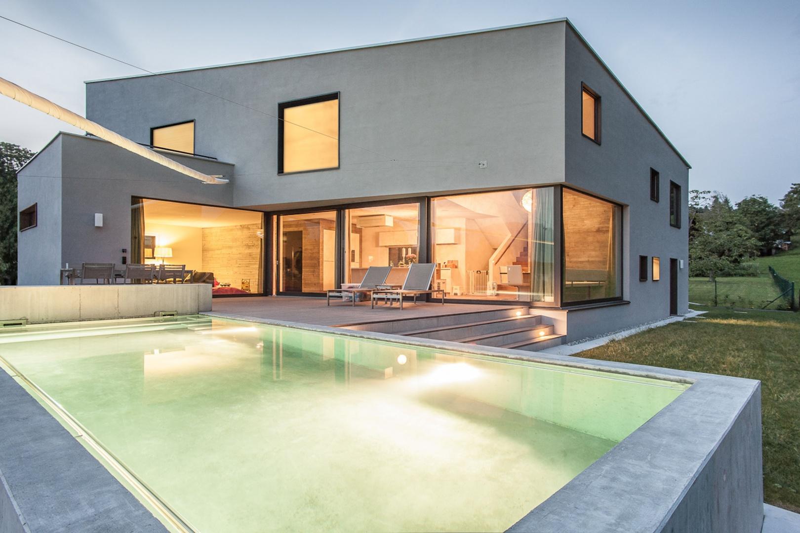Einfamilienhaus im b hl documentation suisse du batiment for Pramierte einfamilienhauser