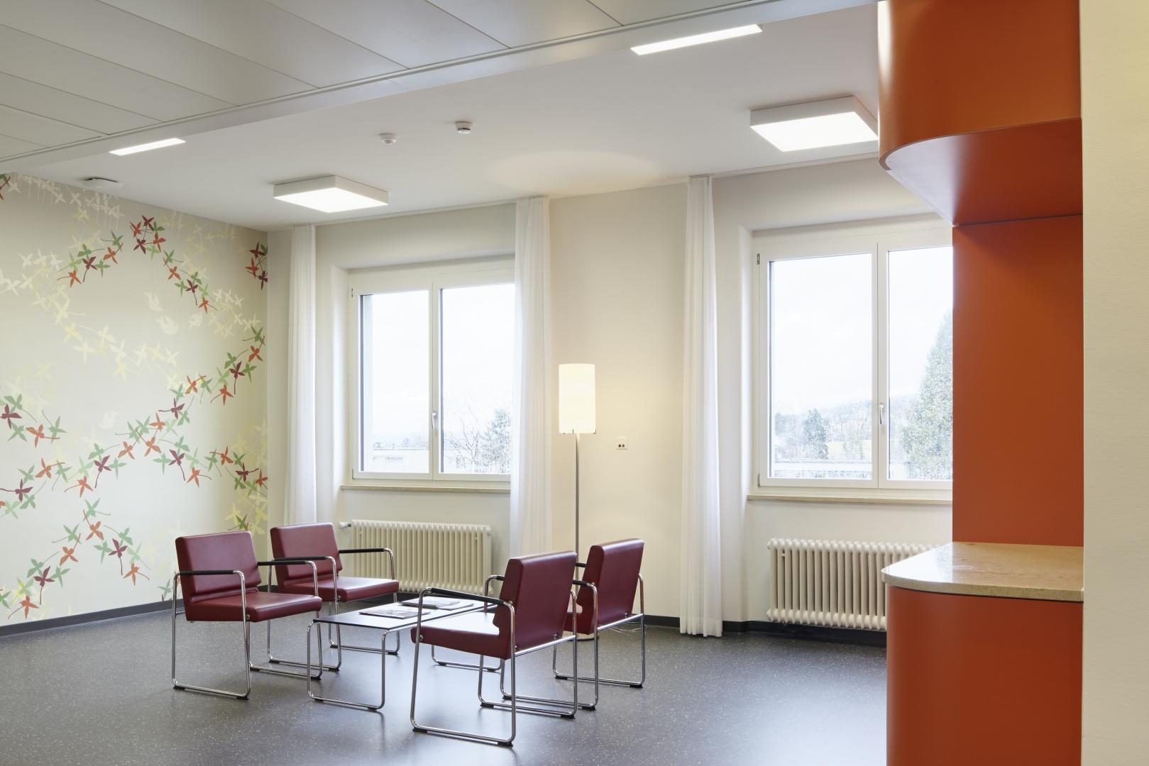 Nische auf Pflegestation © Hannes Henz, Zürich