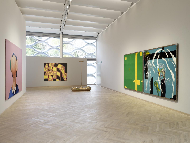 Ausstellungsfläche © Galerie Bruno Bischofberger