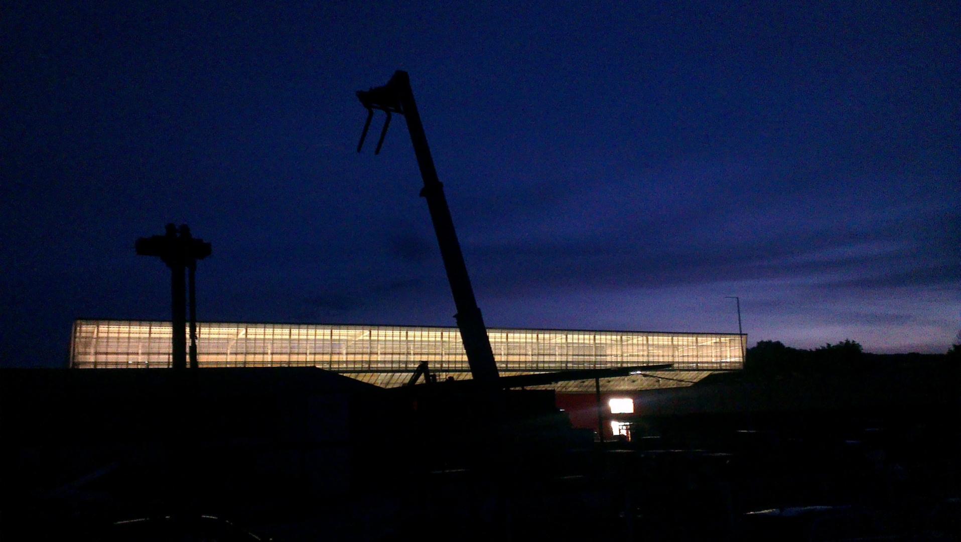 Dach als transluzenter Leuchtkörper © Heinz Zimmermann, HZDS AG