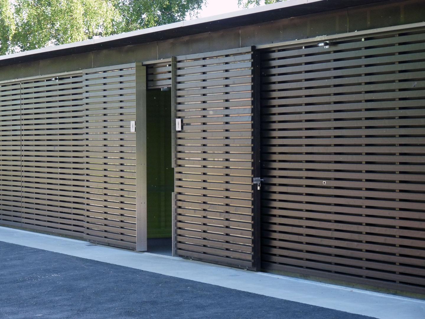 entrée façade nord © GMS Architectes SA