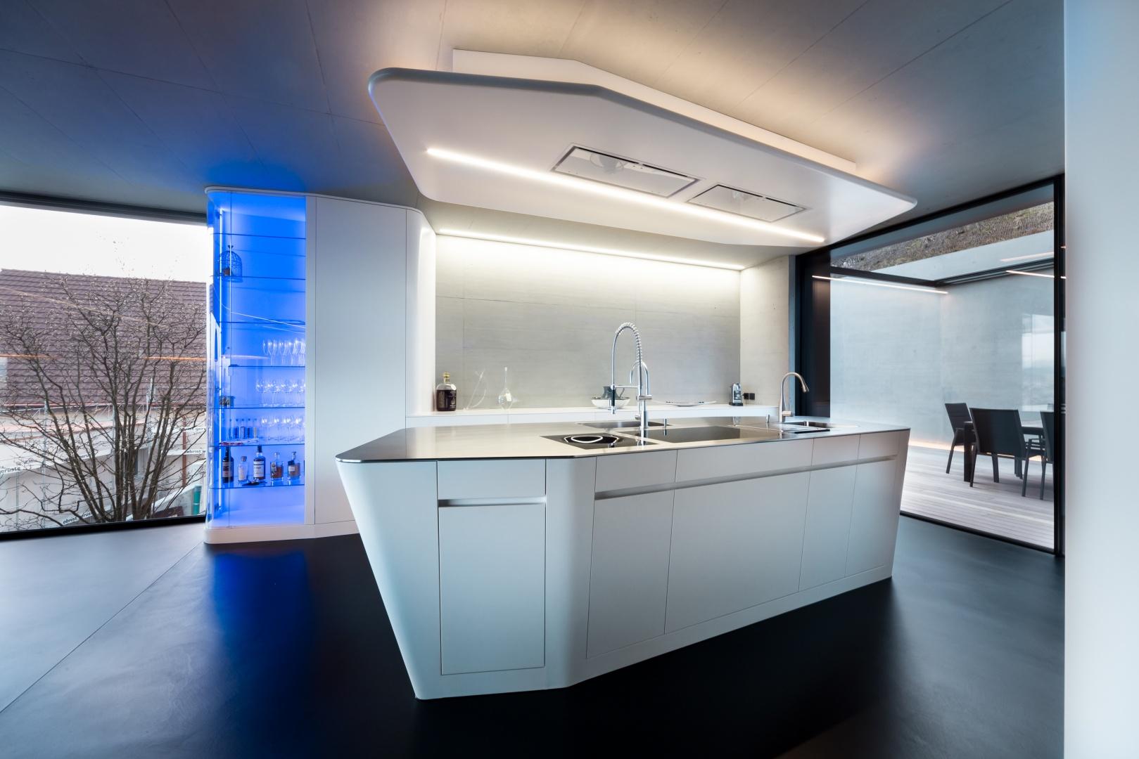 Küche © Lämmli Architektur AG, 5000 Aarau
