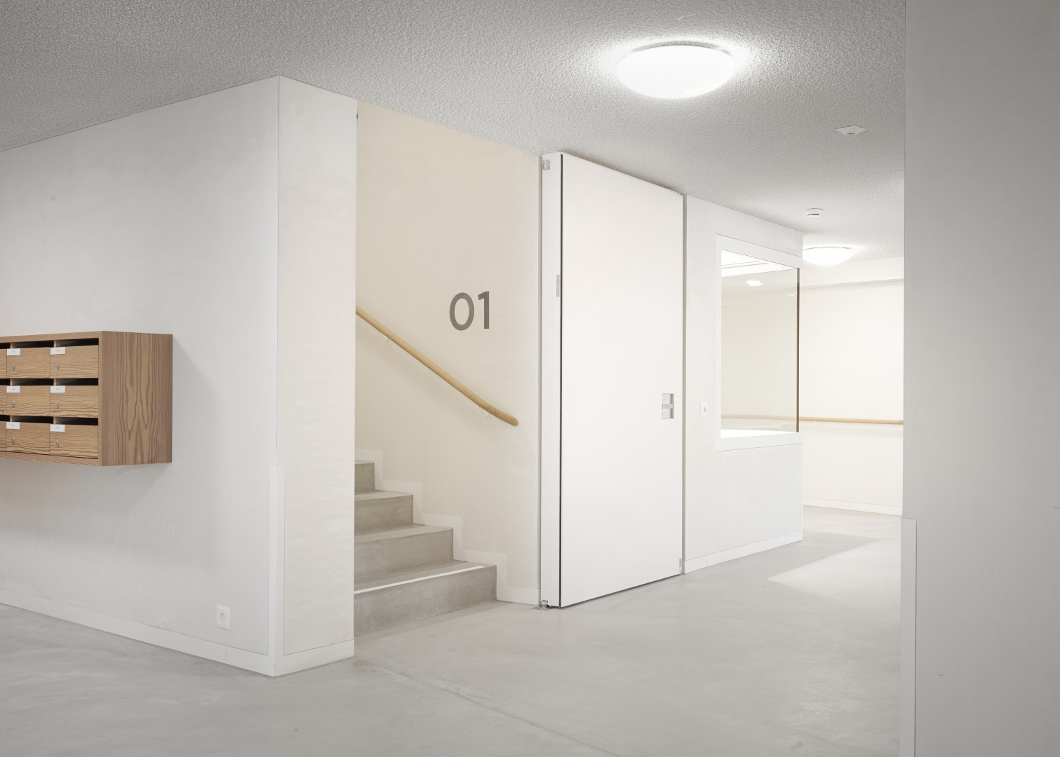 Treppe 1. Obergeschoss © Rindlisbacher Franz, Zürich