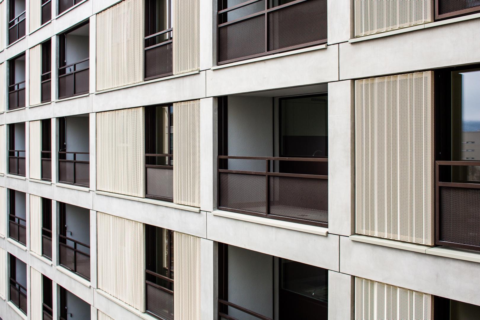 Fassadenauschnitt © Radek Brunecky