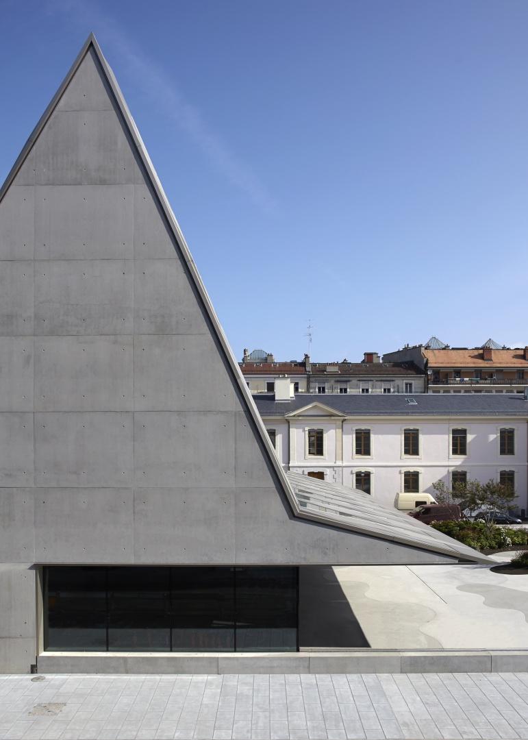 Seitenansicht © Nicole Zermatten, Ville de Genève