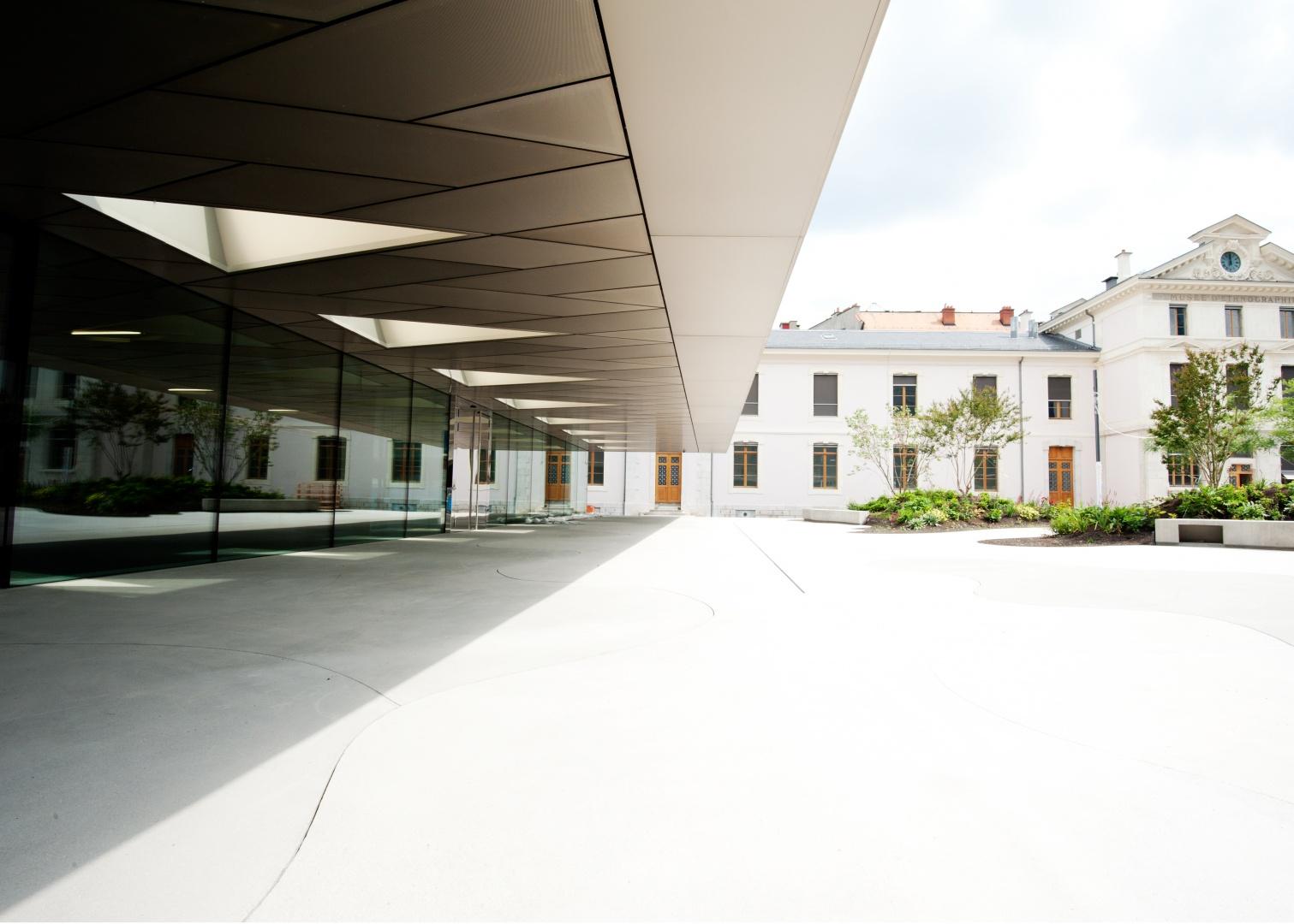 Eingangsbereich © Blaise Glauser, MEG