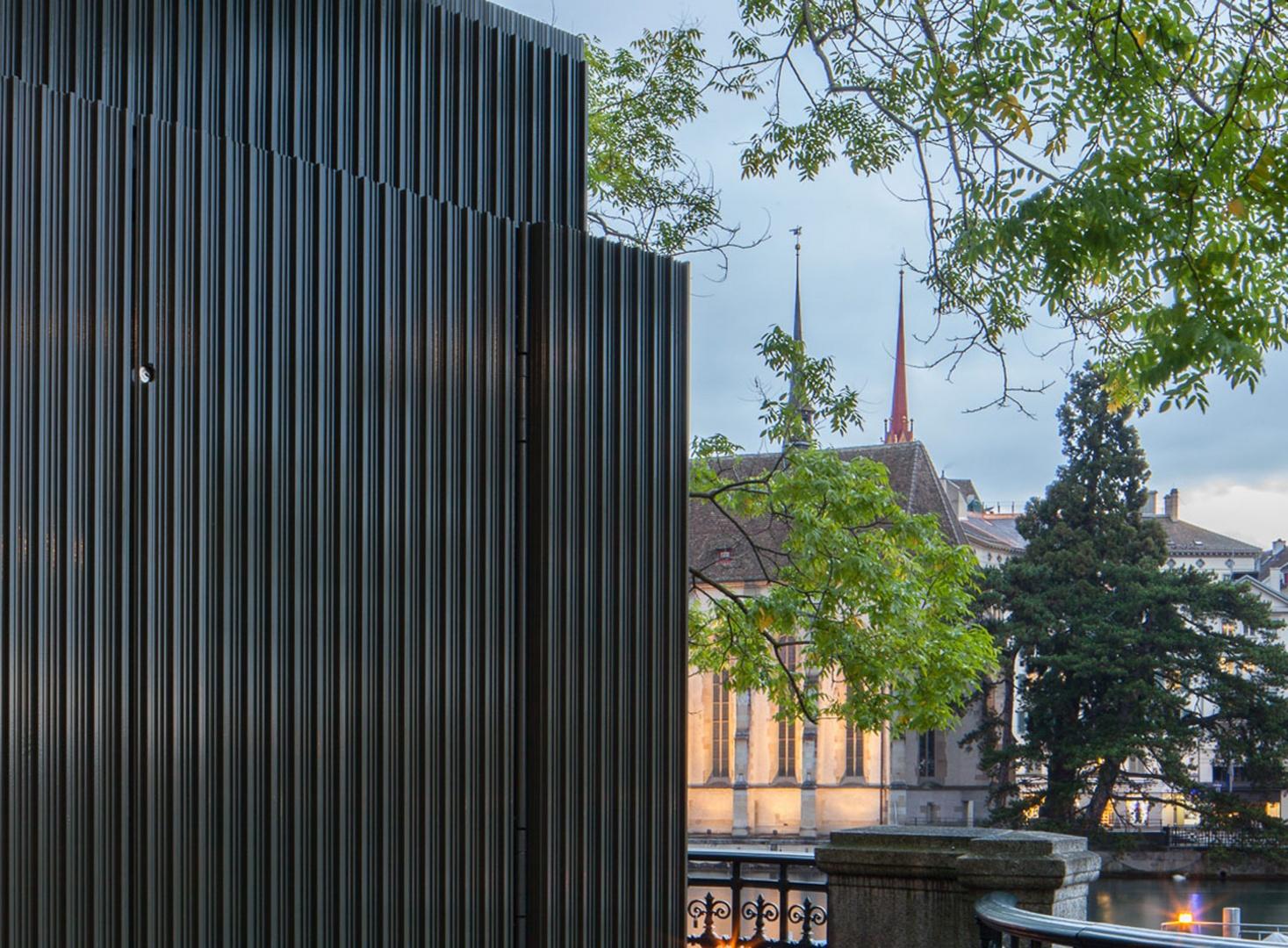 Züri WC am Stadthausquai © Michael Meier Marius Hug Architekten AG Zürich