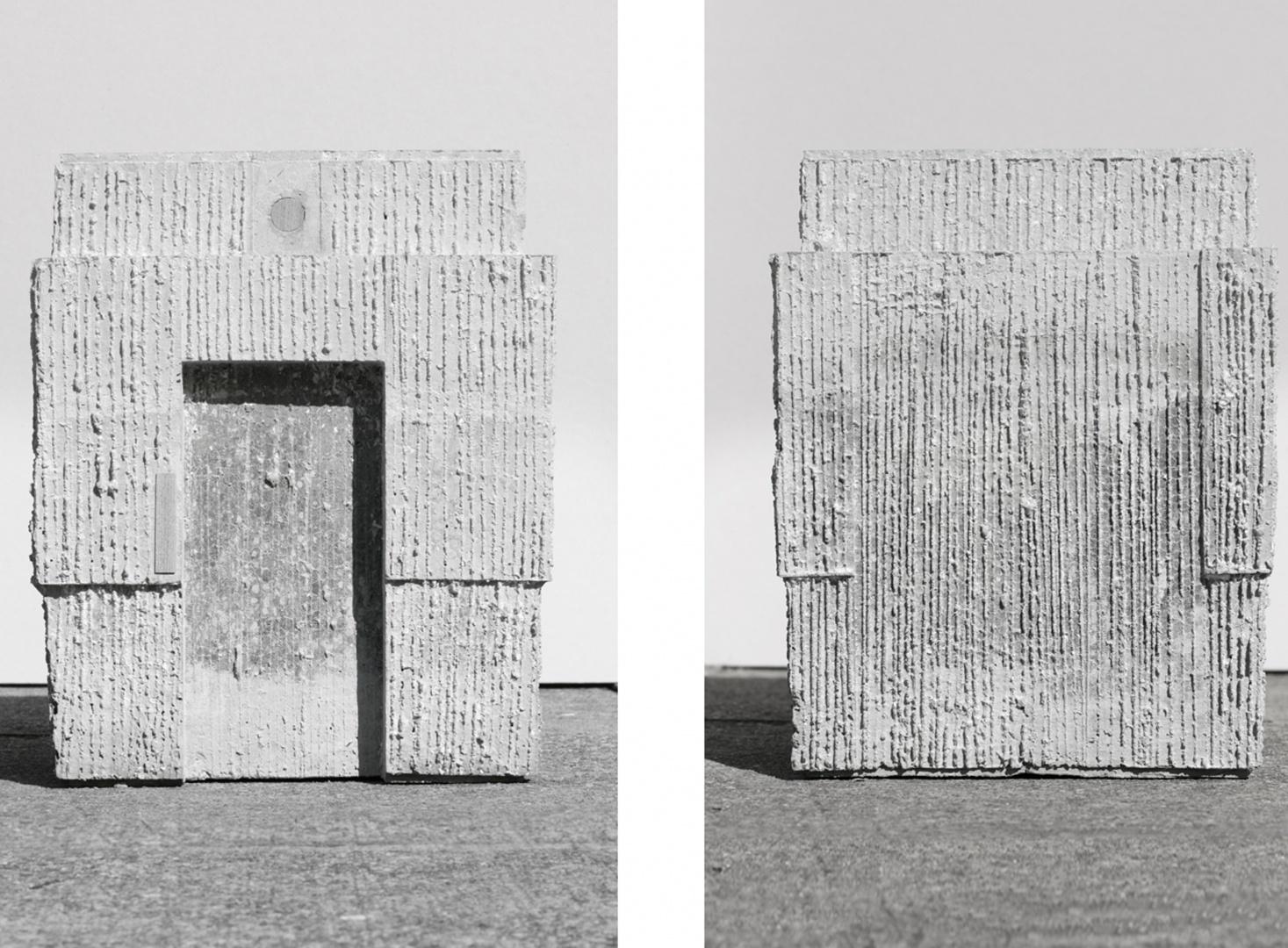 Züri WC am Stadthausquai, Modell © Michael Meier Marius Hug Architekten AG Zürich