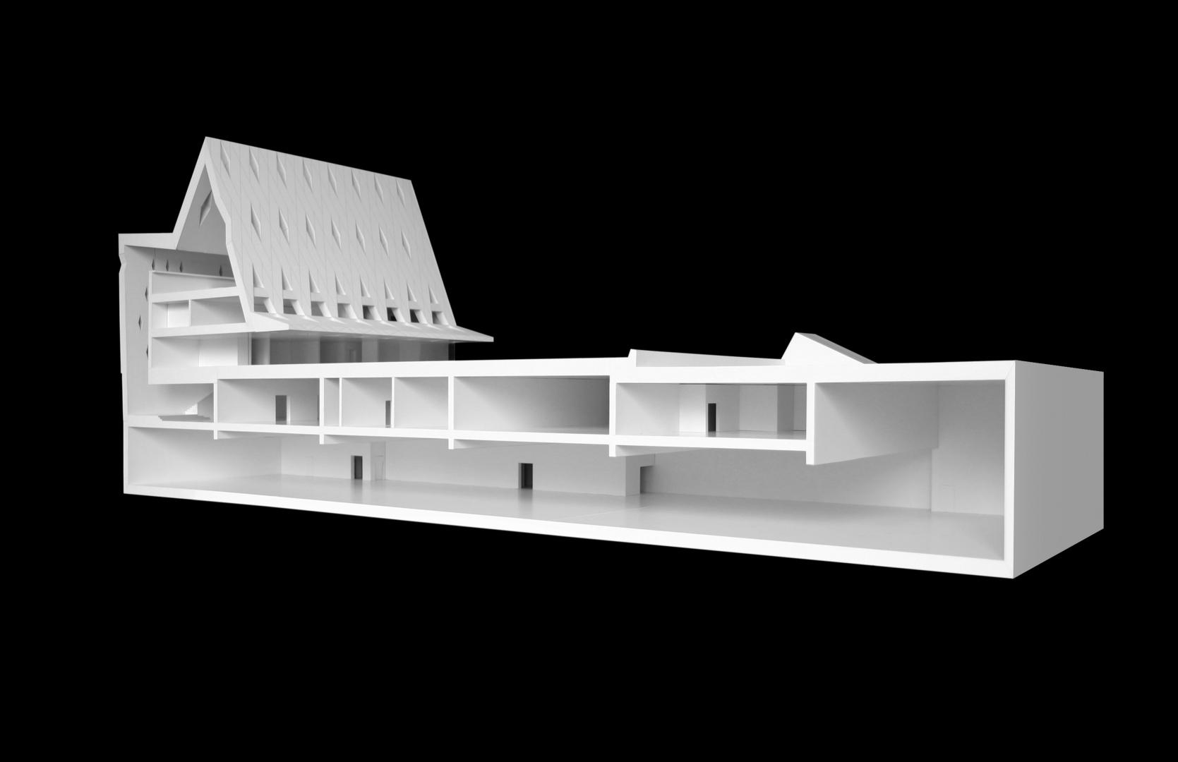 Modell © Graber Pulver Architekten Zürich/Bern