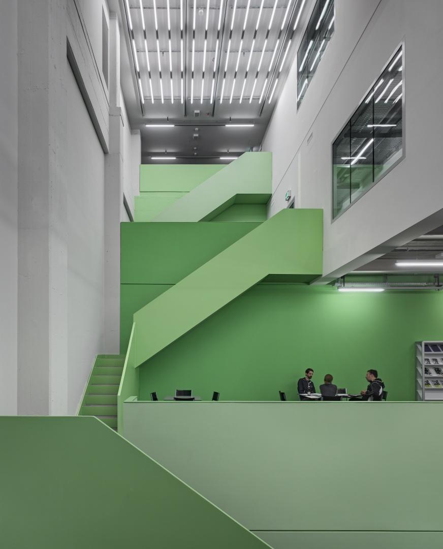 Kleine Kaskade, Studentische Arbeitsplätze © Roger Frei, Zürich