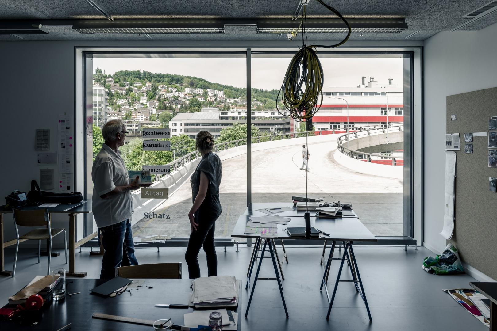 Atelier © Roland Tännler, Zürich