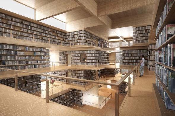 Babel Grosse Buchhalle © Nadine Spielmann