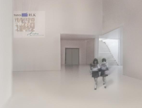 Babel Eingangshalle © Nadine Spielmann