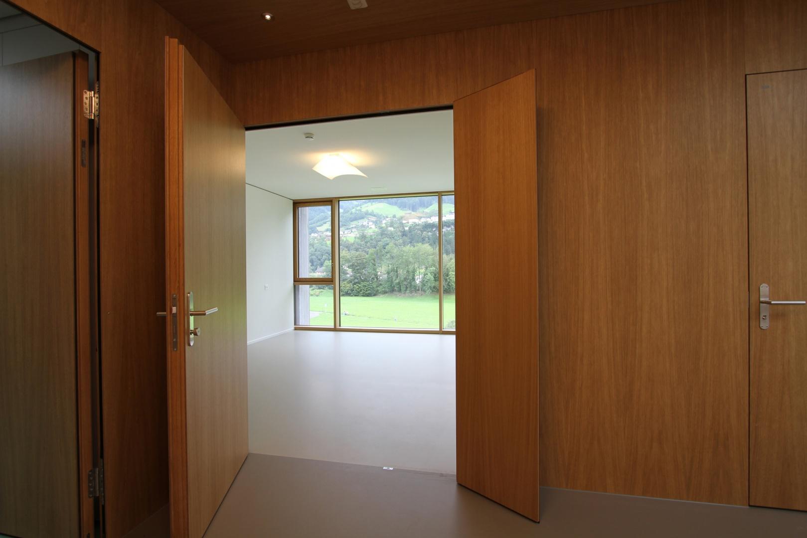 Bewohnerzimmer © HTS Architekten + Partner AG
