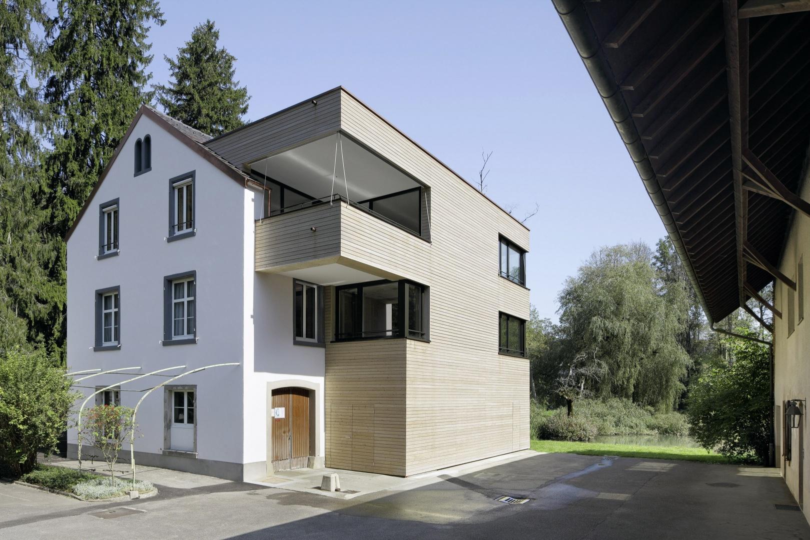 Orishof_Sued-Fassade © Tom Bisig, Basel
