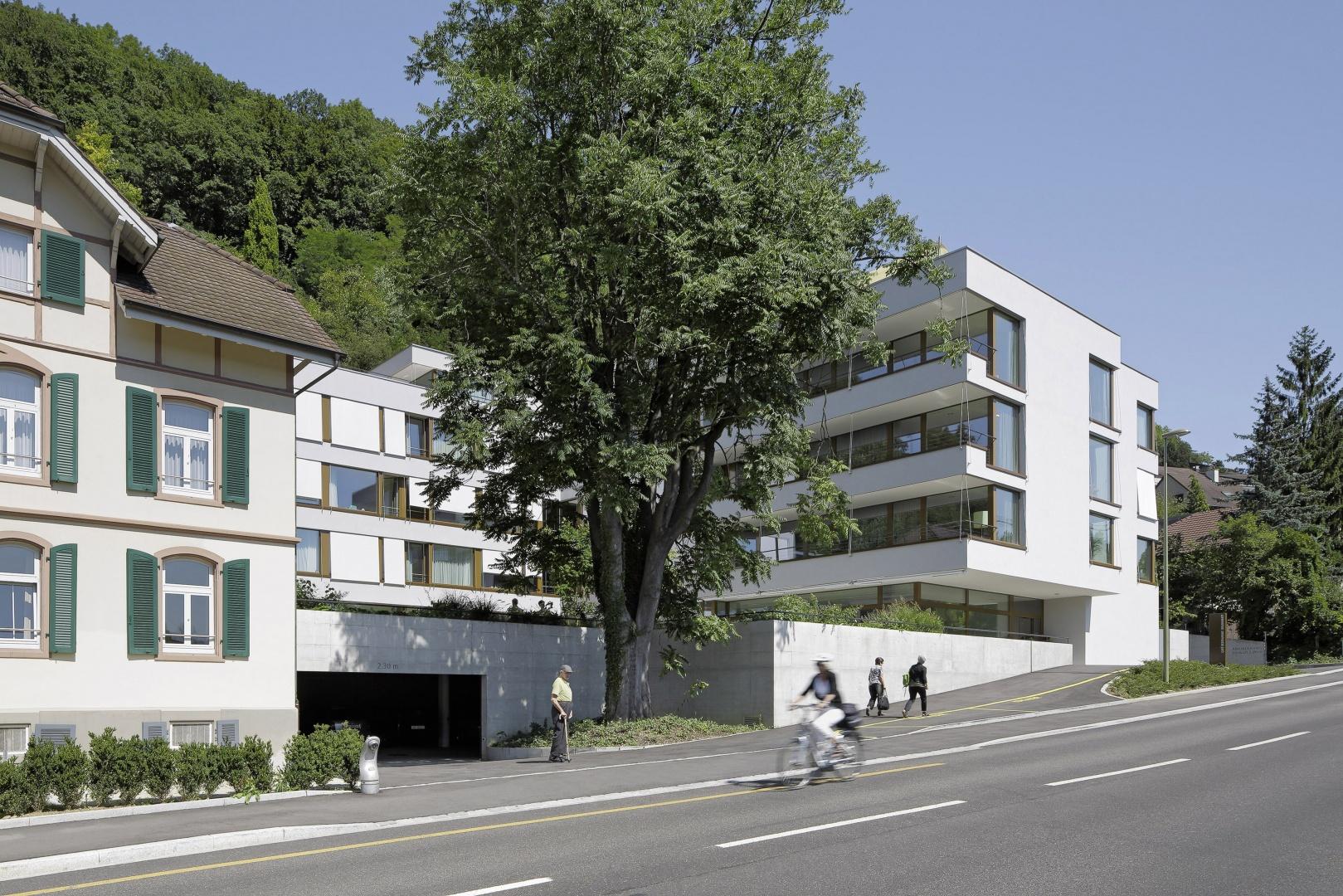 Brunnmatt_Strassenansicht-West © Tom Bisig, Basel