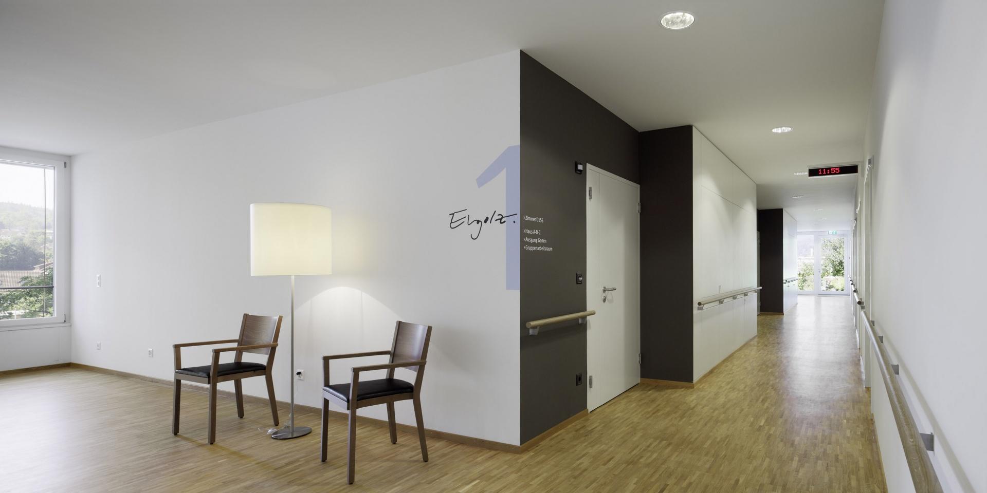 Brunnmatt_Korridor © Tom Bisig, Basel