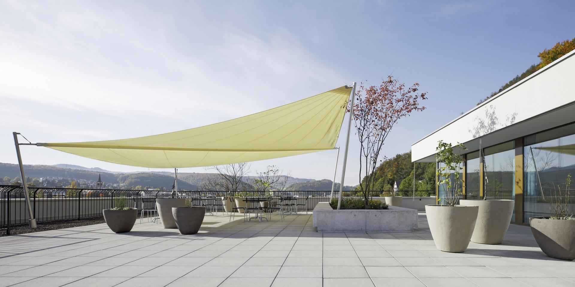 Brunnmatt_Dachterrasse © Tom Bisig, Basel