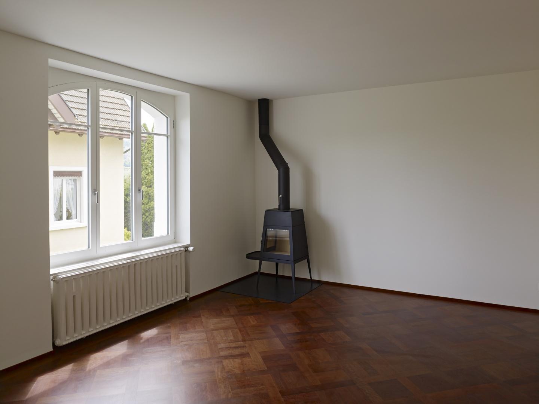 Das Esszimmer mit Ofen  © Ariel Huber, Edit, Brauerstrasse 45 8004 Zürich