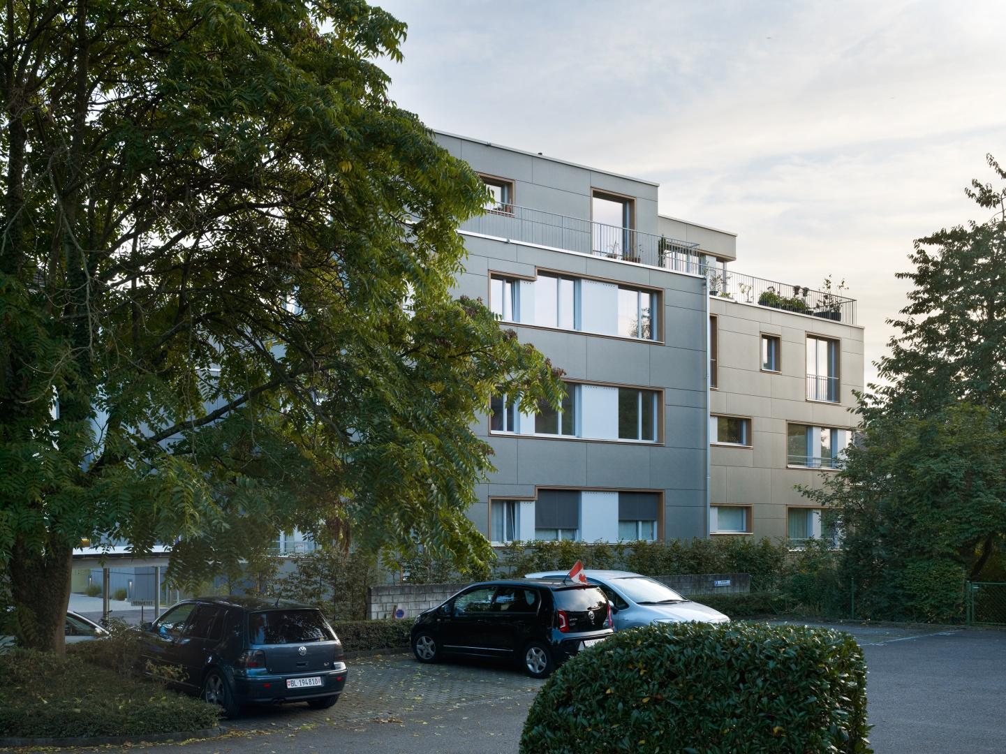 Nordfassade © Ruedi Walti Fotografie, Kannenfeldstr. 22, ch-4056 Basel