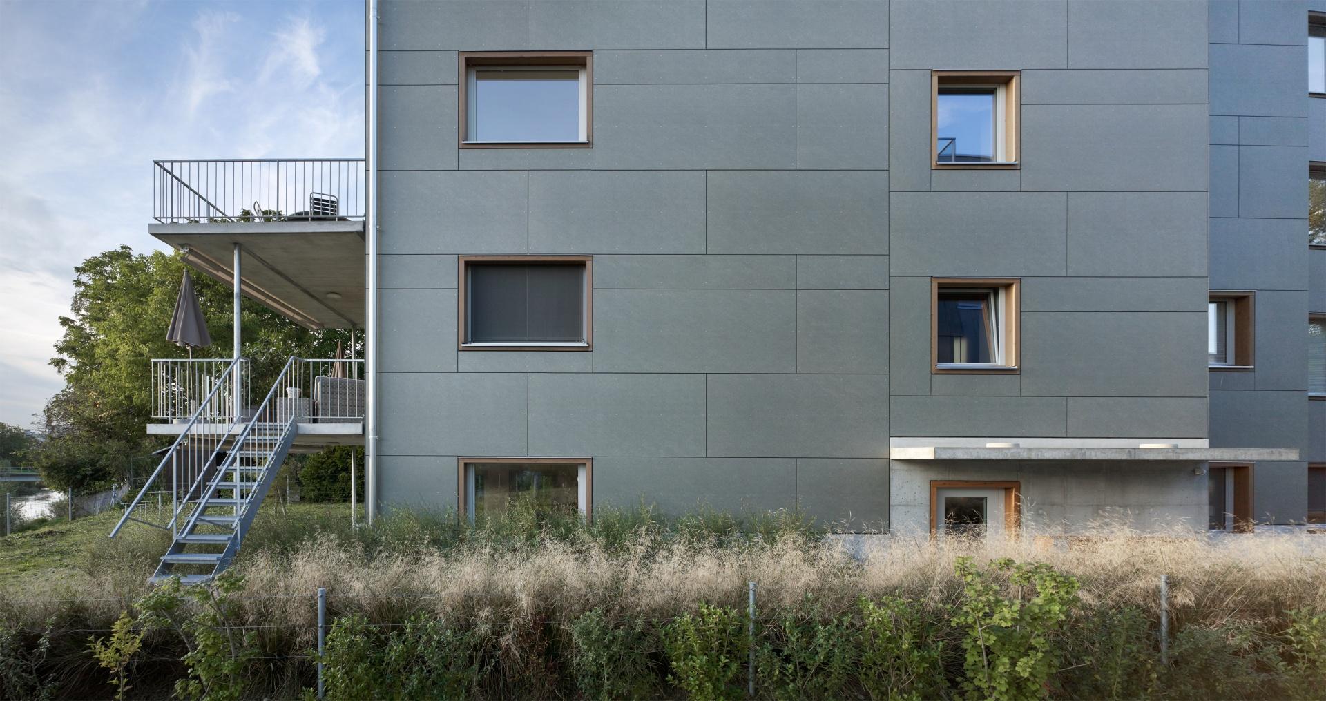 Südfassade Ausschnitt © Ruedi Walti Fotografie, Kannenfeldstr. 22, ch-4056 Basel
