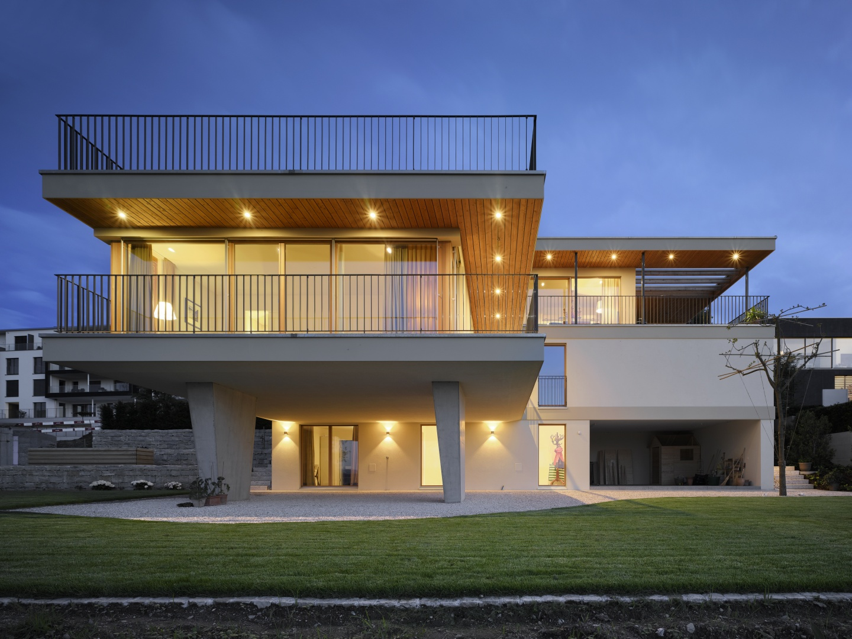 panorama villa am z richsee schweizer baudokumentation. Black Bedroom Furniture Sets. Home Design Ideas