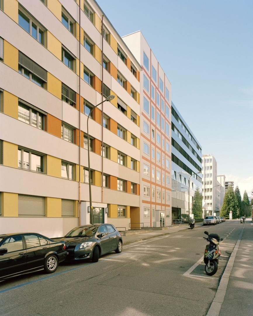 aufstockung wohnbau s cheron schweizer baudokumentation. Black Bedroom Furniture Sets. Home Design Ideas