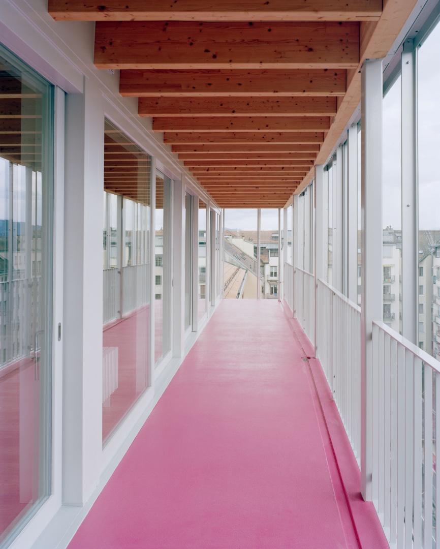 Véranda 7e étage © Joël Tettamanti