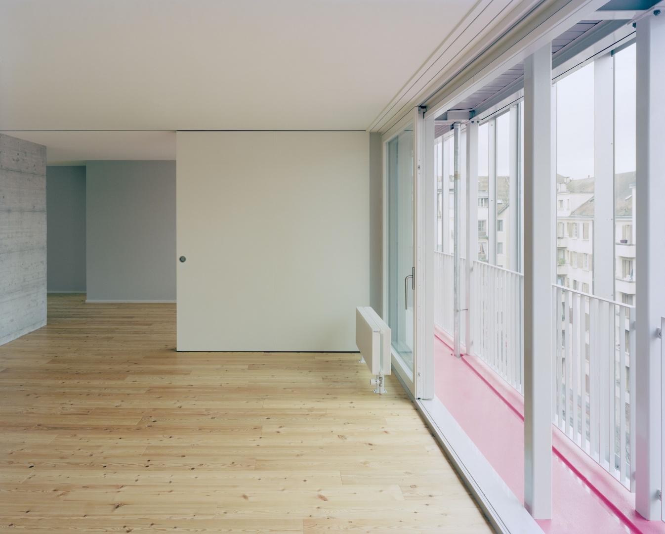 6e étage, maisonette © Joël Tettamanti