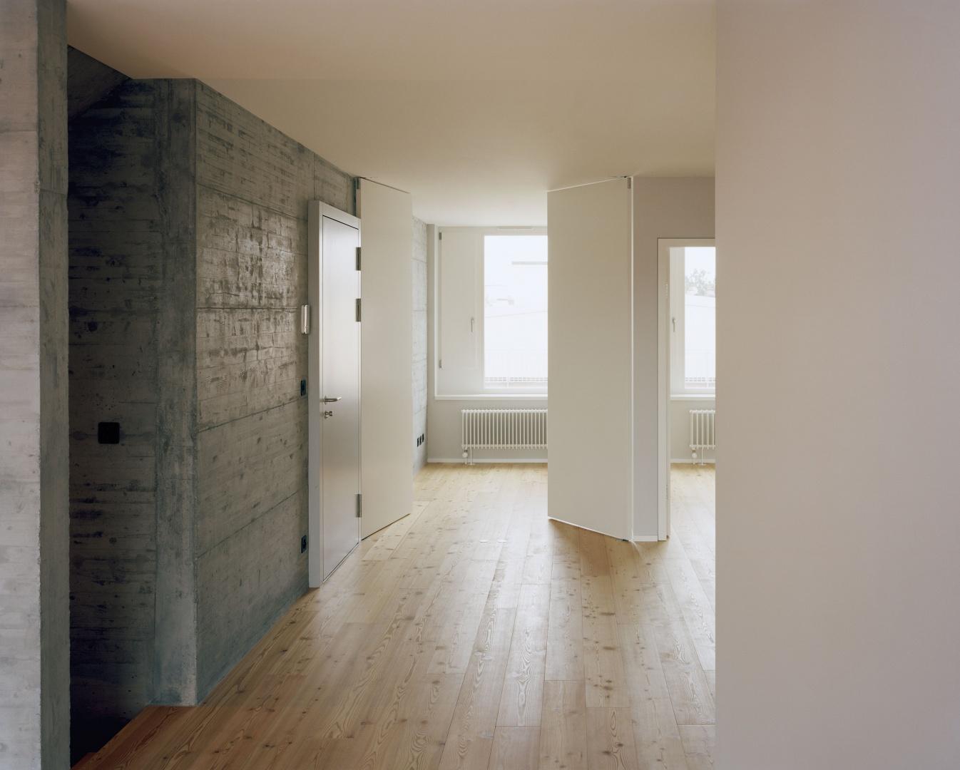 6e étage halle et bureaux, maisonette © Joël Tettamanti