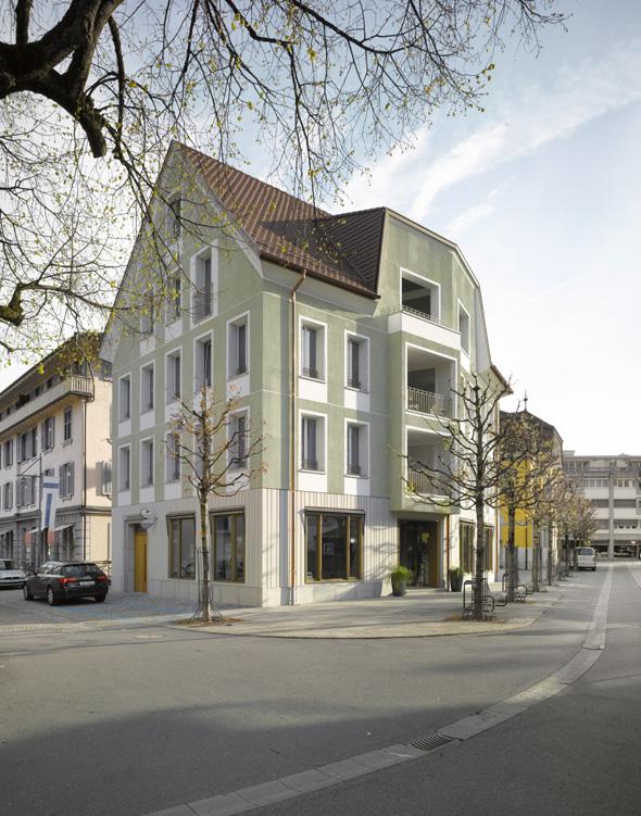 Blick von der Hofstrasse © Seilerlinhart