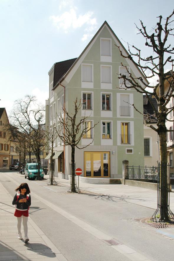 Nordostfassade mit Gartenplatz © Seilerlinhart
