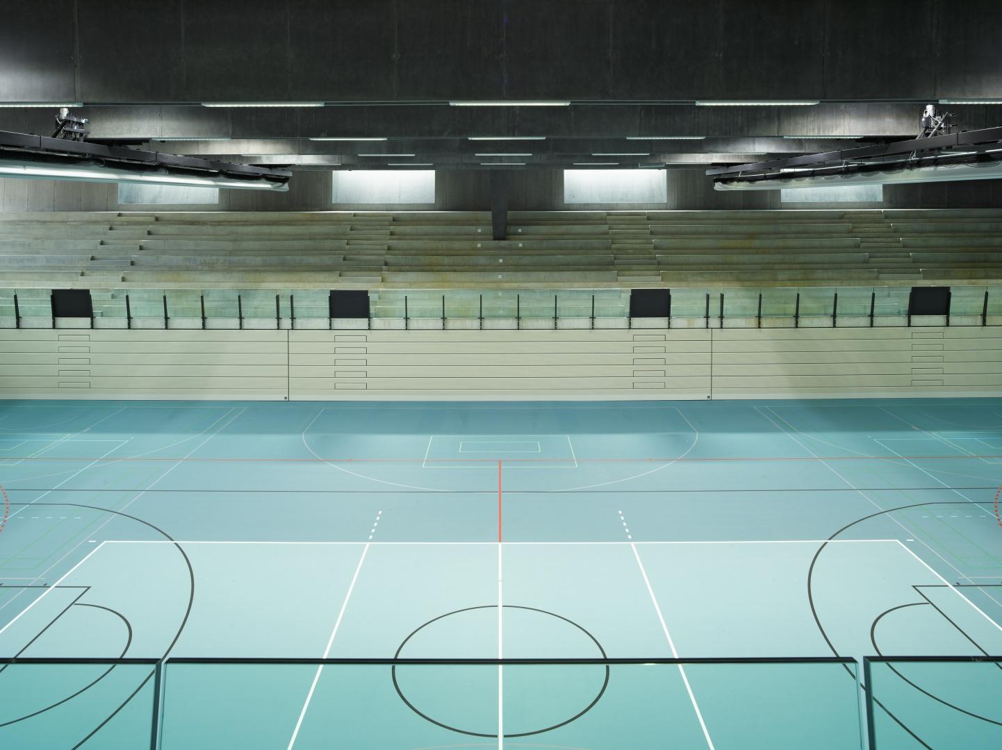 Wettkampfhalle © Dominique Uldry, Bern