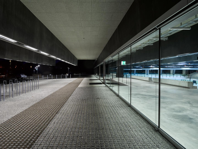 Fassade Eingang © Dominique Uldry, Bern