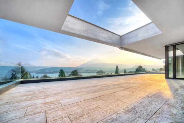 Terrasse © Frank Lüdi Architekturbüro / Feinmass GmbH
