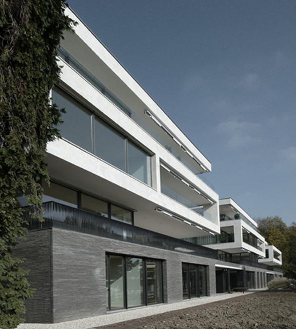 Südfassade © Frank Lüdi Architekturbüro / Feinmass GmbH